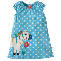 Frugi Little Lola Zebra Dress