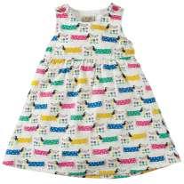 Frugi Dotty Dogs Pretty Party Dress