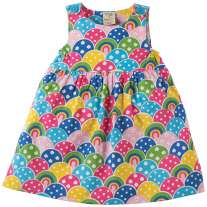 Frugi Rainbow Little Pretty Party Dress