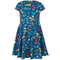 Frugi Skippy Kitty Skater Dress