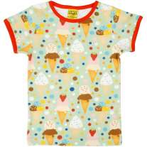 DUNS Adult Ice Cream Pistage SS Top