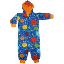 DUNS Blue Lost in Space Lined Hooded Suit