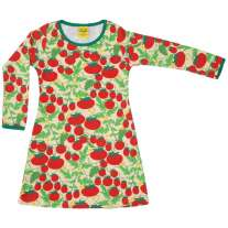 DUNS Pale Yellow Growing Tomatoes LS Basic Dress