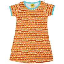 DUNS Orange Sailing Boats SS Dress
