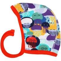 DUNS Jellyfish Teal & Purple Baby Bonnet