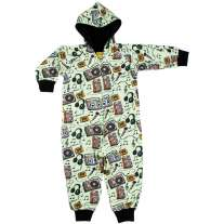 DUNS Music Lined Hooded Suit