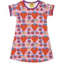 DUNS Purple Strawberry Field SS Dress