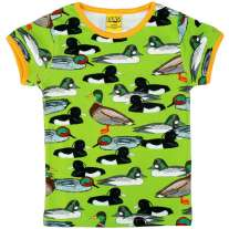 DUNS Flash Green Duck Pond SS Top