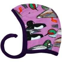 DUNS Violet Duck Pond Baby Bonnet