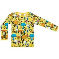 DUNS Yellow Mushroom Long Sleeve Top