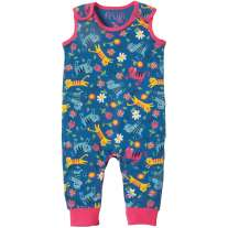 Frugi Skippy Kitty Kneepatch Dungarees