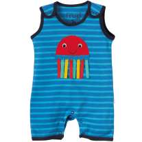 Frugi Jellyfish Lundy Dungarees