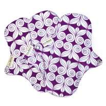 Eco Femme Purple Organic Pantyliner No PUL x3