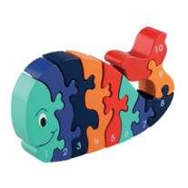 Whale 1-10 Jigsaw