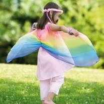 Sarah Silks Rainbow Fairy Dress