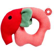 Franck & Fischer Rose Elephant Rattle