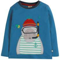 Frugi Manatee Adventure Applique Top