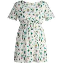 Frugi Bloom Greenhouse Muslin Smock Top