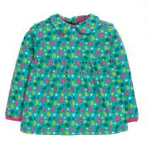 Frugi Bluebird Printed Ditsy Floral Top