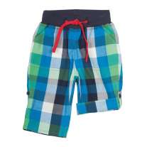 Frugi Check Roll-Up Trousers