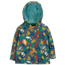 Frugi Endangered Heroes Cosy Button Up Jacket