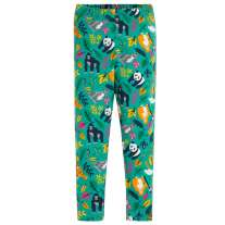 Frugi Endangered Heroes Printed Libby Leggings