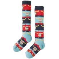 Frugi Multi Moose Firefly Socks