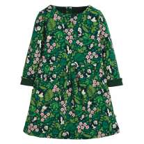 Frugi Floral Panda Lulu Jumper Dress