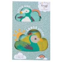 Frugi Little & Large Dodo Socks 0-6 Months / Medium Adult