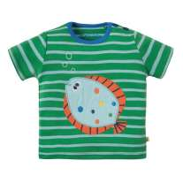 Frugi Fish Atlantic Applique T-Shirt