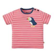 Frugi Puffin Wilbur Applique T-Shirt