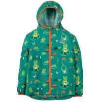 Frugi Frog Pond Puddle Buster Pack-Away Jacket