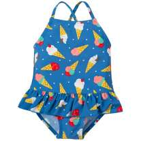 Frugi Ice Cream Dream Little Coral Swimsuit