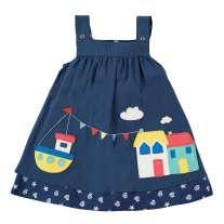 Frugi Reversible Rosemary Harbour Dress