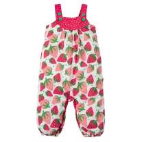 Frugi Scilly Strawberries Springtime Dungarees