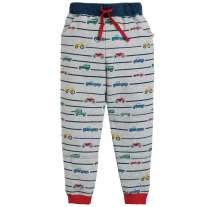 Frugi Racing Rally Printed Snug Joggers
