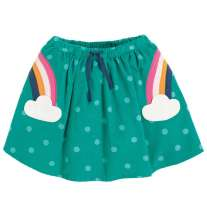 Frugi Rainbow Tabby Twirly Skirt