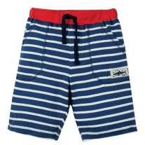 Frugi Blue Breton Stripy Shorts