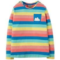 Frugi Rainbow Cloud Louise Top