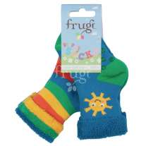 Frugi Sunshine Grippy Socks 2 Pack