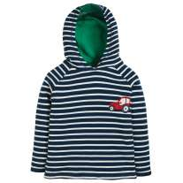 Frugi Tractor Reversible Hooded Top