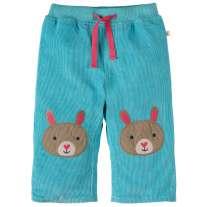 Frugi Aqua Bunny Cord Trousers