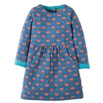 Frugi Fox Lulu Dress