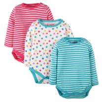 Frugi Luxury Pointelle Body 3-Pack