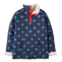 Frugi Navy Stars Snuggle Fleece