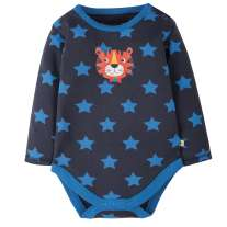 Frugi Navy Tiger Lerryn Body