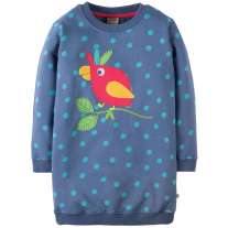 Frugi Parrot Eloise Jumper Dress