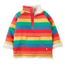 Frugi Rainbow Little Snuggle Fleece