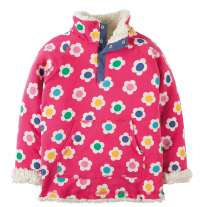Frugi Raspberry Daisy Snuggle Fleece