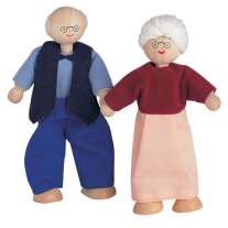 Plan Toys Dolls House Grandmother & Grandfather